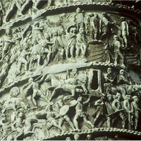 Column of Marcus Aurelius--victory over the barbarian tribes of the Danube.jpg